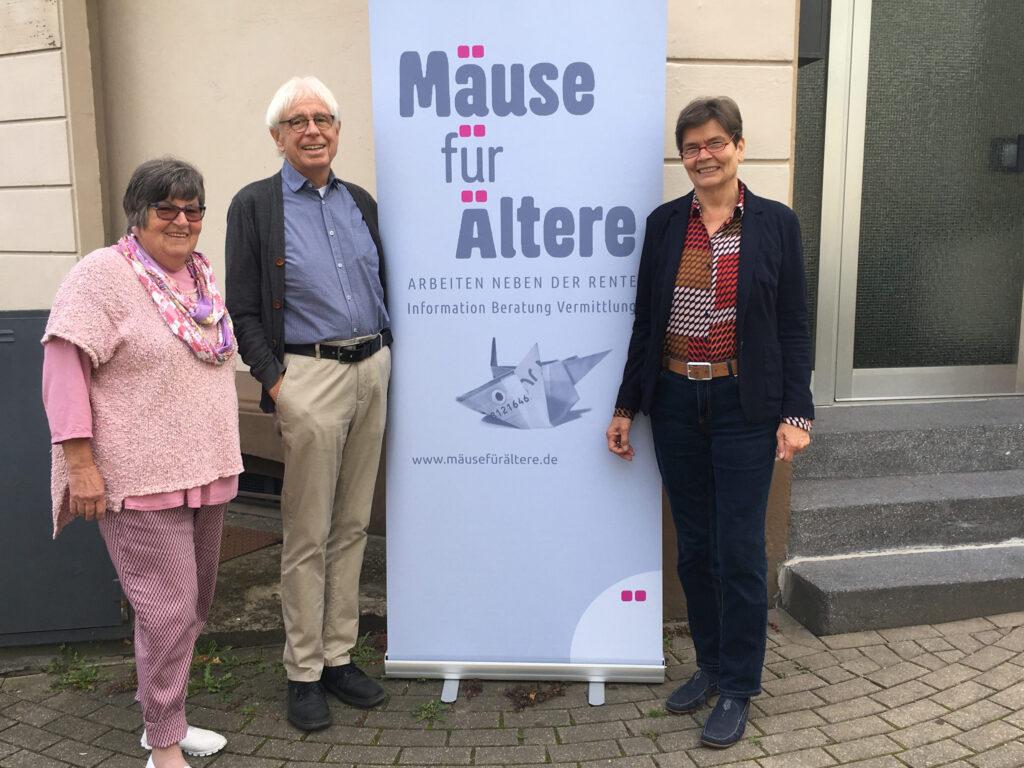 Der Vorstand 2020 – 2022 (von links nach rechts): Meggi Leineweber, Wolfgang Nötzold, Cornelia Sperling
